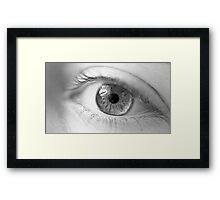 I see you! Framed Print