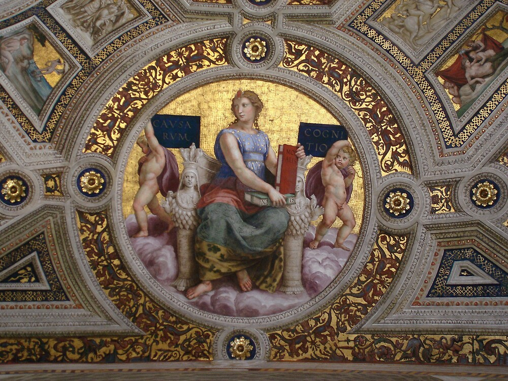 Ceiling Mosaic, Vatican City by Rob Mueller