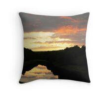 Leighton Sunset. Throw Pillow