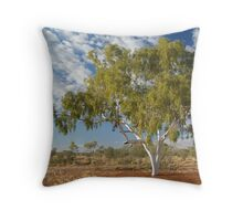 Ghost Gum,Batton Hill North Simpson Desert Throw Pillow