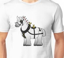 Shire in Harness (Grey) Unisex T-Shirt