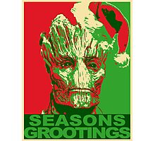 Seasons Grootings Photographic Print