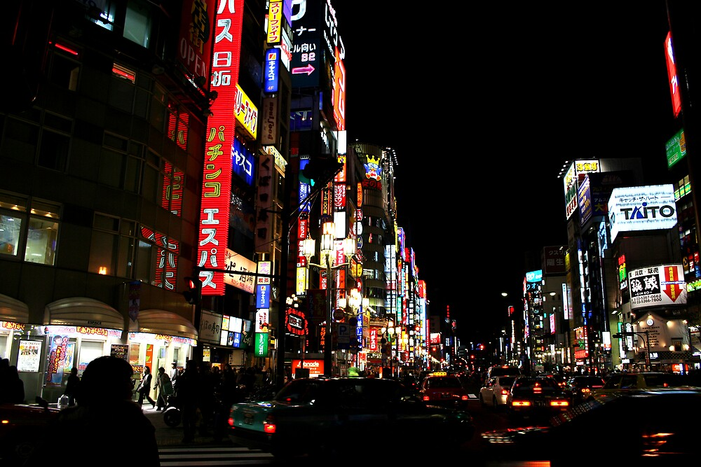 Tokyo Neon by sunny