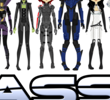 Mass Effect 2 Crew  ver.1 Sticker