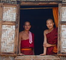 Master and Apprentice in Burma by Murray Newham