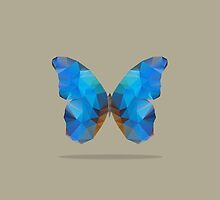 Blue Butterfly by cafelab