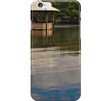 Restful Stop on the River  iPhone Case/Skin
