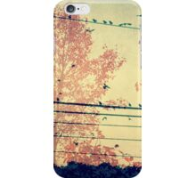 She Dreamed of Flying Away iPhone Case/Skin