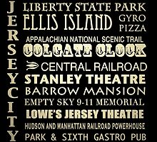 Jersey City Famous Landmarks by Patricia Lintner