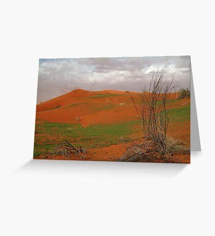 Pending Wild Flowers,North Simpson Desert Greeting Card