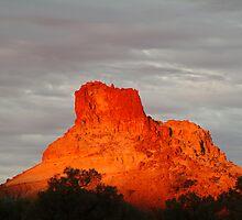 Goyder's Pillar, North Simpson Desert,N.T. by Joe Mortelliti