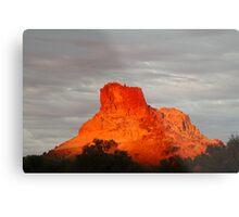 Goyder's Pillar, North Simpson Desert,N.T. Metal Print