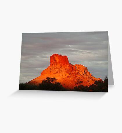 Goyder's Pillar, North Simpson Desert,N.T. Greeting Card