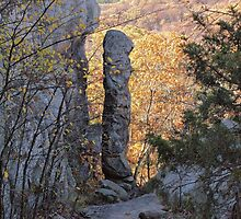Devil's Smokestack - Shawnee by Sandy Keeton