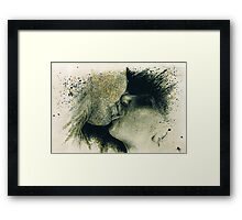 Lip Locked  Framed Print