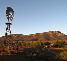 Rawnsley Bluff Flinders Ranges by langar