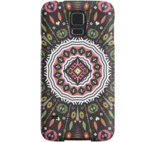 Ornamental round aztec geometric pattern Samsung Galaxy Case/Skin