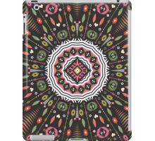 Ornamental round aztec geometric pattern iPad Case/Skin
