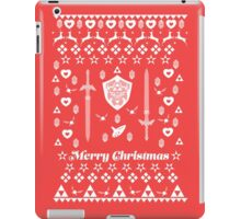 Zelda Christmas Card Jumper Pattern iPad Case/Skin