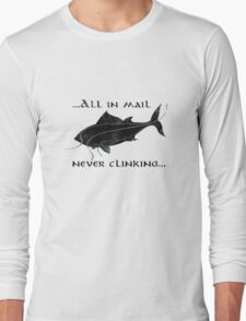 Riddles In The Dark (Fish) - The Hobbit Long Sleeve T-Shirt