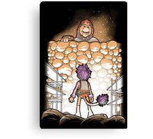 Attack on Fraggle Canvas Print