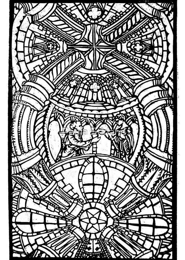 Romanesque panarama by Paula Stirland