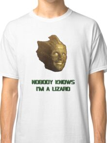Doctor Who's Madame Vastra - Nobody Knows I'm a Lizard Classic T-Shirt