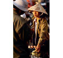 Hanoi street scene Photographic Print
