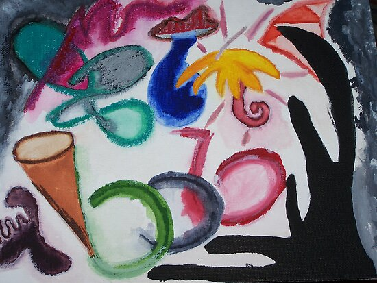 Revenge of the Flamboyant Umbrella by Sarah Bentvelzen