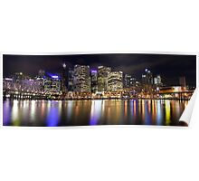 Cockle Bay panoramic Poster