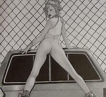 Ute Girl by Emma King