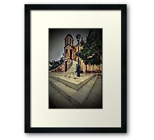 Just like in gothic times... Framed Print