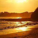 Sunset, Torquay Surf Beach,Great Ocean Road by Joe Mortelliti