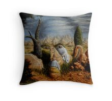 Apparition in a Landscape Throw Pillow