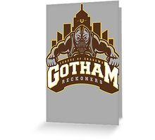 Gotham Reckoners Greeting Card