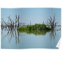 Lake Victoria,Outback NSW Poster