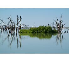 Lake Victoria,Outback NSW Photographic Print