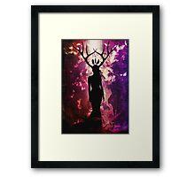 Deer Dreams Framed Print