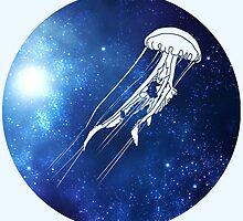Galaxy Jellyfish by Jasmine Curtis