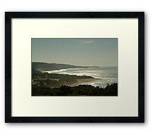 Harsh Light Anglesea,Great Ocean Road Framed Print