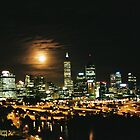 perth moon rise by dodgsun