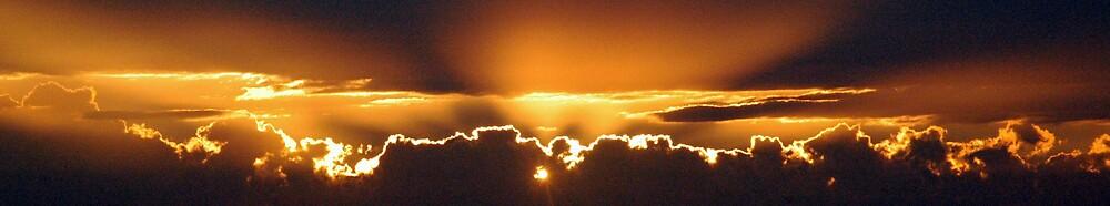 Grumpy Sunset by Steven Zan
