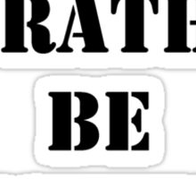 Right Now, I'd Rather Be Fishing - Black Text Sticker