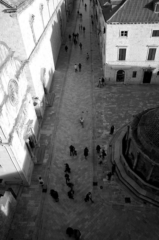 ancient square by kenan