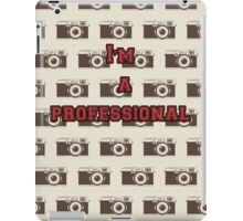 PRO Photographer iPad Case/Skin