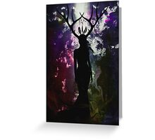 Deer Dreams - Dark Limited Edition Greeting Card