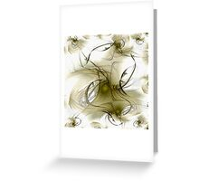 dreaming. dancing. floating. Greeting Card