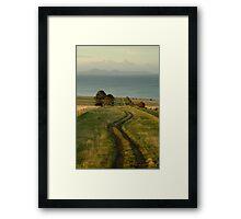Spray Farm Lane Framed Print