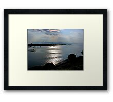 Light and Ripples on the Water Framed Print