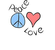 Peace and Love by Sarah's Designs